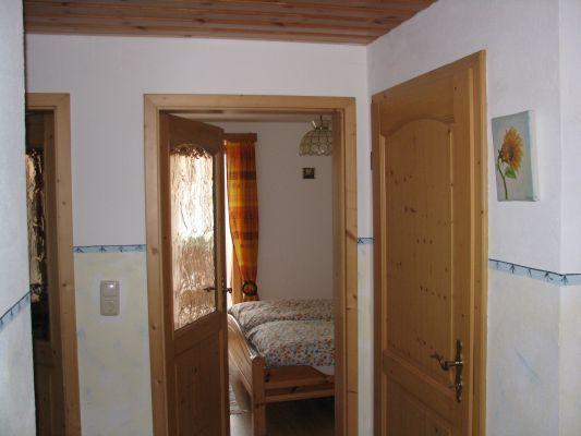 Blick in eines der Schlafzimmer