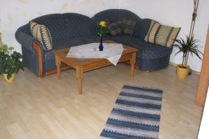 Couch im Wohnzimmer
