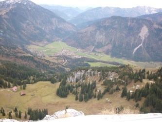 Ausblick von den Bergen