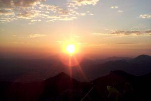 Sonnenaufgang auf der Kampenwand